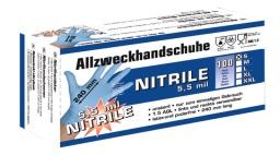 Перчатки «NITRILE» (50 шт. в уп.)