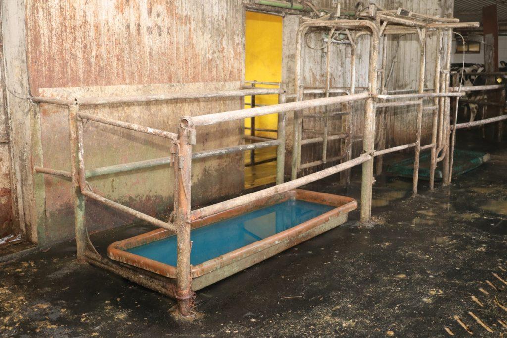 ванна для копыт КРС